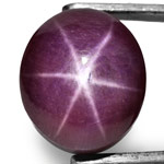 81.92-Carat AIGS-Certified Large Violet Star Ruby from India