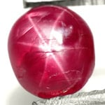 1.18-Carat Maroonish Red 6-Ray Star Ruby from Burma