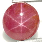 4.85-Carat Lovely Pinkish Red Star Ruby from Vietnam