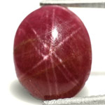 "4.47-Carat Rare Intense Purple Burmese ""Double-Star"" Ruby"