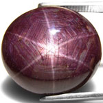 166.94-Carat King-Size Star Ruby with Razor Sharp 6-Ray Star