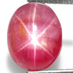 "4.16-Carat Rare Burmese ""Double-Star"" Ruby (Natural & Unheated)"