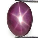 4.62-Carat Lovely Purple Red Star Ruby from Sri Lanka