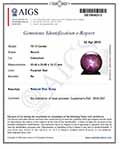 78.15-Carat Massive Dark Red Star Ruby from India (AIGS)