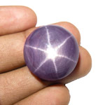 91.14-Carat Large Purple Star Ruby with Super Sharp 6-Ray Star