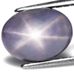 4.71-Carat Awesome Greyish Blue Star Sapphire from Ceylon