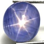 5.96-Carat Magnificent Deep Blue Burmese Star Sapphire