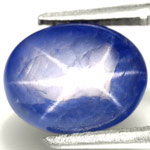 3.79-Carat Cornflower Blue Burmese Star Sapphire (Sharp Star)
