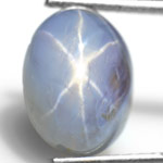 5.83-Carat Burmese Star Sapphire with Super Sharp Star