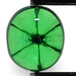 1.04-Carat Beautiful Grass Green Colombian Trapiche Emerald
