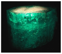 "The Famous 1383.95-Carat Devonshire Emerald Crystal named after the ""Duke of Devonshire"""