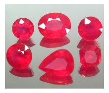 Beautiful Madagascar Rubies