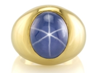 Star Sapphire with a Sharp & Centered Star