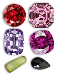 Various Shades of Spinels