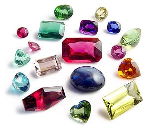 Loose Gemstones, emerald, ruby, sapphire, aquamarine and others