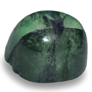 1.14-Carat Pale Green Oval-Cut Trapiche Emerald from Colombia - Click Image to Close