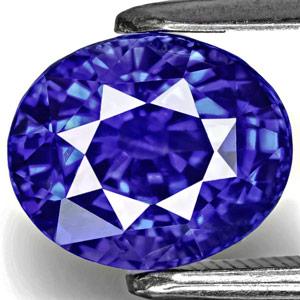 3.60-Carat Eye-Clean Cornflower Blue Kashmir Sapphire (GIA)