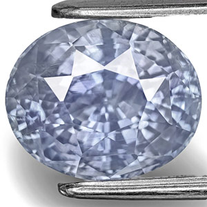 5.67-Carat GIA-Certified Unheated Blue Sapphire from Kashmir