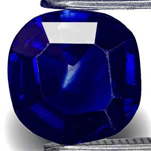 1.82-Carat Ink Blue Unheated Kashmir-Origin Sapphire (GIA)