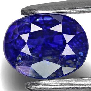 2.87-Carat Unheated Royal Blue Kashmir-Origin Sapphire (GIA)