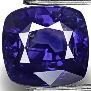 6.64-Carat Velvety Royal Blue Kashmir Sapphire (GIA-Certified)