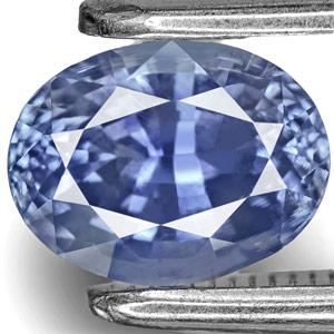 1.14-Carat Eye-Clean Intense Blue Kashmir-Origin Sapphire (GIA)