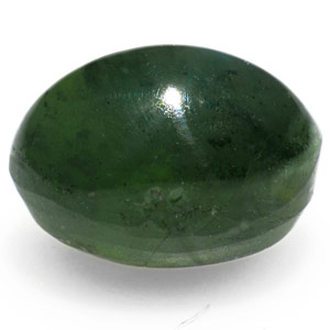 1.92-Carat Dark Green IGI-Certified Alexandrite Cat's Eye - Click Image to Close