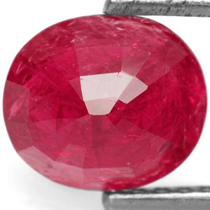 1.69-Carat Natural & Unheated Purplish Red Mozambique Ruby - Click Image to Close