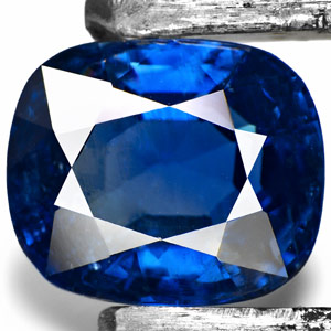 5.25-Carat Eye-Clean Unheated Cornflower Blue Sapphire (GIA)