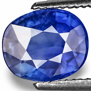 2.06-Carat Unheated VVS Cornflower Blue Burmese Sapphire (IGI)