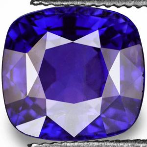 4.57-Carat Rare Unheated Royal Blue Burmese Sapphire (IGI)