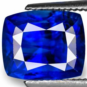 5.14-Carat Fiery Deep Kashmir-Blue Unheated Burmese Sapphire