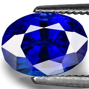 2.62-Carat Flawless Vivid Kashmir-Blue Unheated Burmese Sapphire