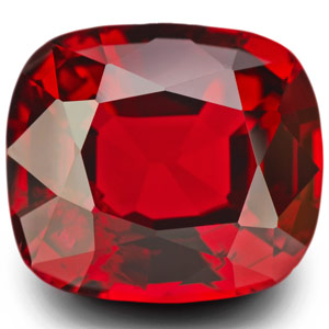 4.86-Carat Collector-Grade Pigeon Blood Red Burmese Spinel