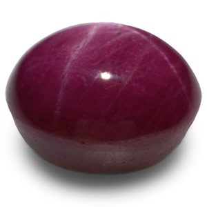 12.33-Carat Indian Star Ruby with Razor-Sharp 6-Ray Star - Click Image to Close