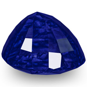 "5.78-Carat Exclusive ""Royal Blue"" Kashmir Sapphire (GIA / GRS) - Click Image to Close"