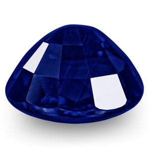 1.19-Carat Flawless Unheated Royal Blue Sapphire (GRS-Certified) - Click Image to Close
