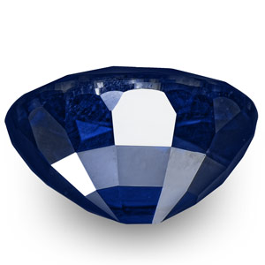 3.69-Carat Exclusive Unheated VVS-Clarity Royal Blue Sapphire - Click Image to Close