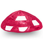 3.49-Carat Unheated Lustrous Pinkish Red Burmese Ruby (GRS)