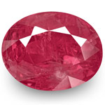 4.37-Carat Unheated Deep Pinkish Red Ruby from Burma (IGI)