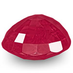 2.38-Carat Unheated Velvety Pinkish Red Ruby from Burma (GRS)