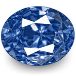 3.25-Carat Unheated Fiery Intense Cornflower Blue Burma Sapphire