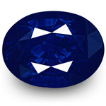 "3.94-Carat Rare GRS-Certified Unheated ""Royal Blue"" Sapphire"
