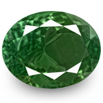 3.19-Carat GRS-Certified Deep Green Alexandrite with Strong CC