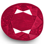 1.47-Carat Unheated Deep Pinkish Red from Mogok, Burma (IGI)