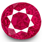 1.10-Carat Rare Eye-Clean Fiery Neon Pinkish Red Burmese Ruby