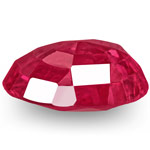 0.59-Carat Natural & Unheated Oval-Cut Ruby from Mogok, Burma