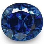 0.64-Carat Flawless Fiery Royal Blue Sapphire from Kashmir (IGI)
