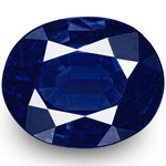 1.09-Carat Pair of Lovely Unheated Flawless Royal Blue Sapphires