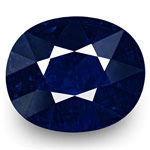 2.71-Carat GRS-Certified Unheated Ink Blue Sapphire from Burma